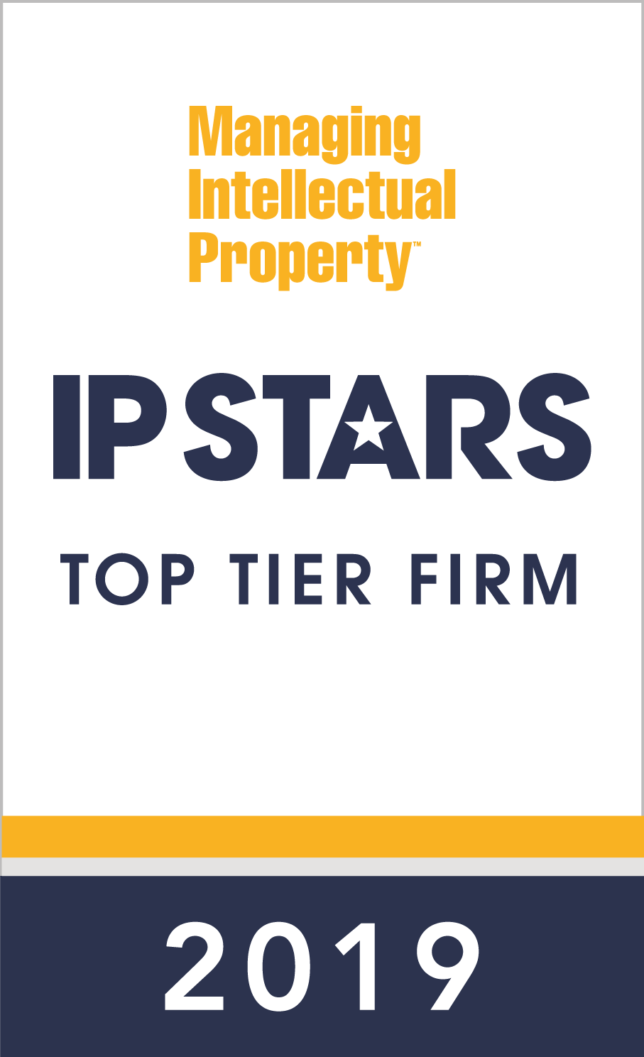 IP Stars Top Tier Firm 2019
